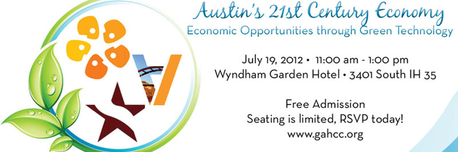Austin's 21st Century Economy: Economic Opportunities Through Green Technology Forum